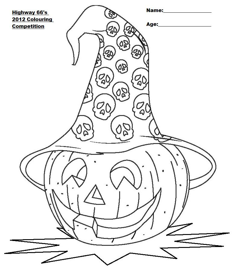 kvoa coloring contest pages - photo#34